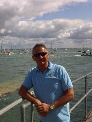 Scott at Cowes