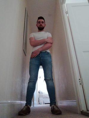 Straight male escort